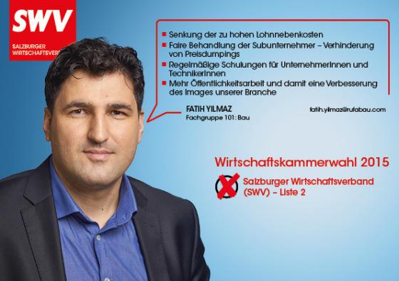 Fatih Yilmaz - Fachgruppe 101: Bau