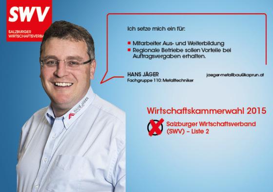 Hans Jäger - Fachgruppe 110: Metalltechniker