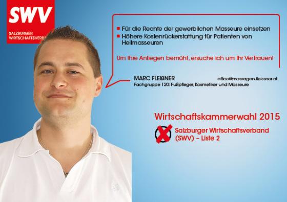 Marc Fleißner - Fachgruppe 120: Fußpfleger, Kosmetiker und Masseure