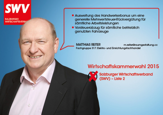 Matthias Reiter - Fachgruppe 317: Elektro- und Einrichtungsfachhandel
