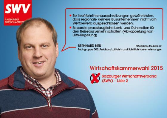 Bernhard Neu - Fachgruppe 502: Autobus-, Luftfahrt- und Schifffahrtunternehmungen