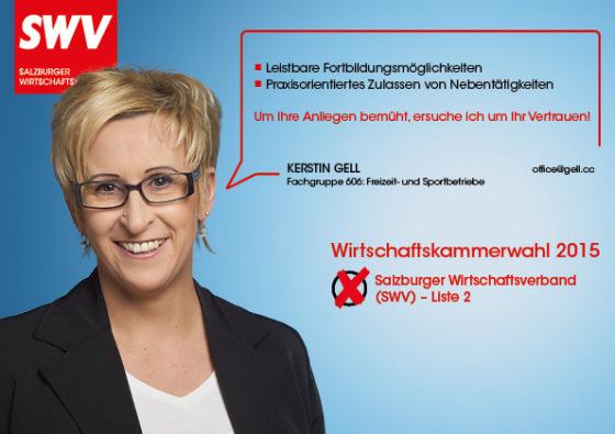 Kerstin Gell - Fachgruppe 606: Freizeit- und Sportbetriebe
