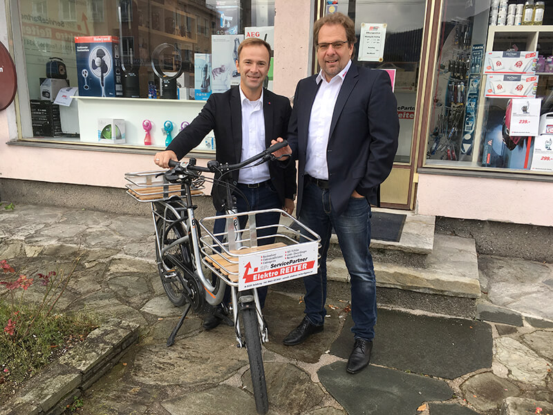 SPÖ-Bürgermeisterkandidat Bernhard Auinger