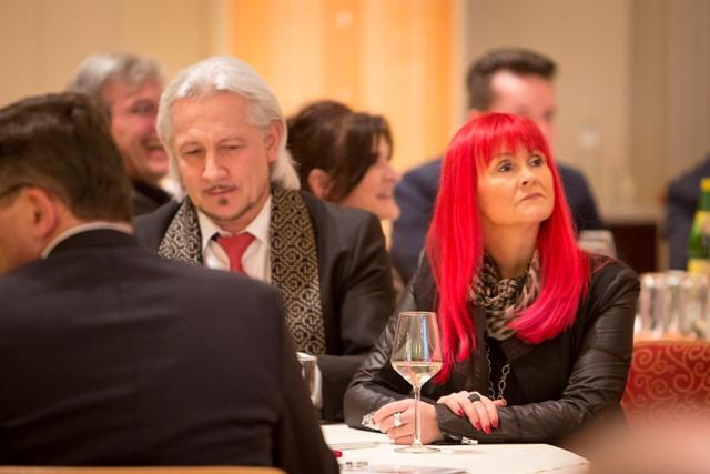 Wolfgang Rainer mit Barbara Reyer