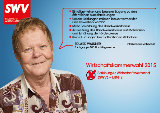 Eduard Walkner - Fachgruppe 106: Bauhilfsgewerbe