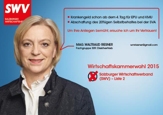 Waltraud Riesner - Fachgruppe 309: Direktvertrieb