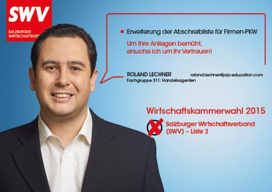 Roland Lechner - Fachgruppe 311: Handelsagenten