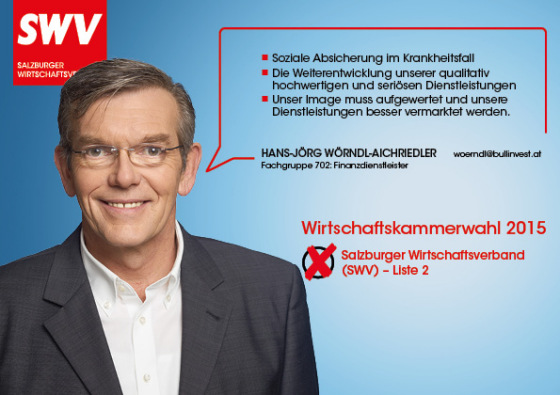 Hans-Jörg Wörndl-Aichriedler - Fachgruppe 702: Finanzdienstleister