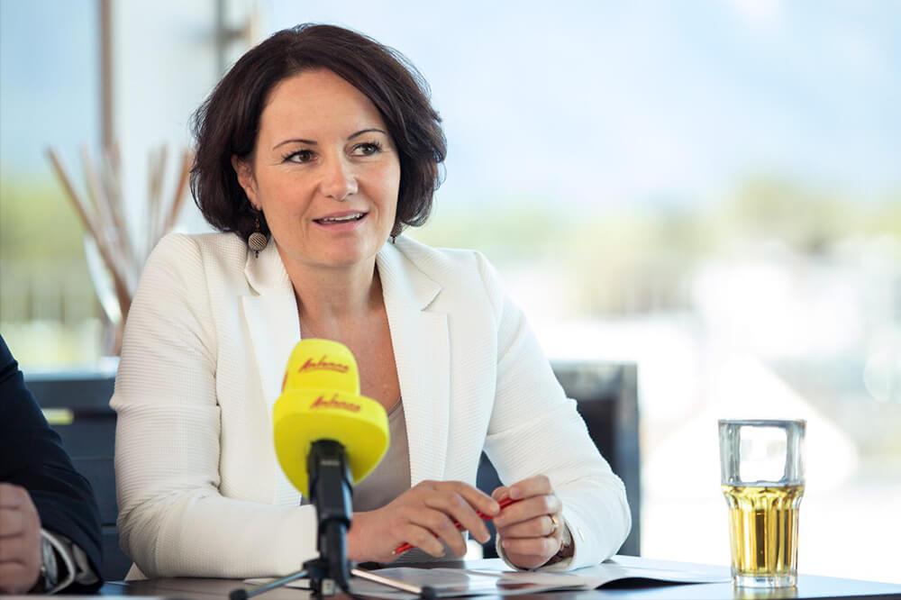 Nationalrätin Cornelia Ecker - Sprecherin für Gewerbe & KMU im SPÖ-Parlamentsklub