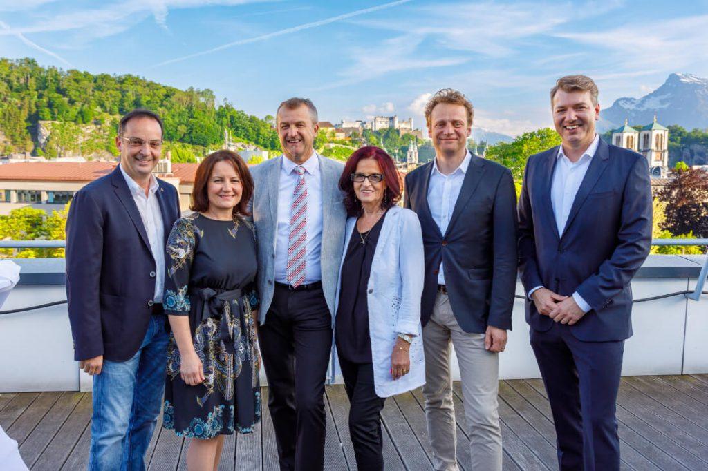 Das neue Team des Salzburger Wirtschaftsverbands