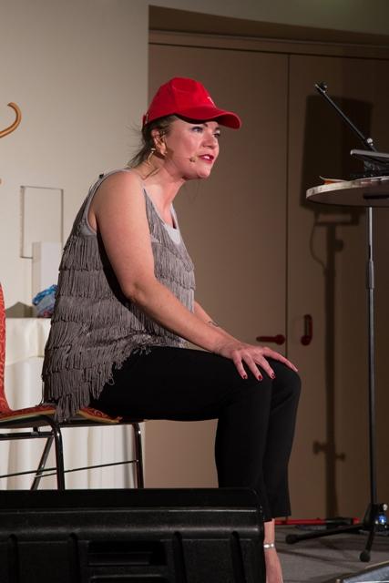 Marion Petric als Niki Lauda
