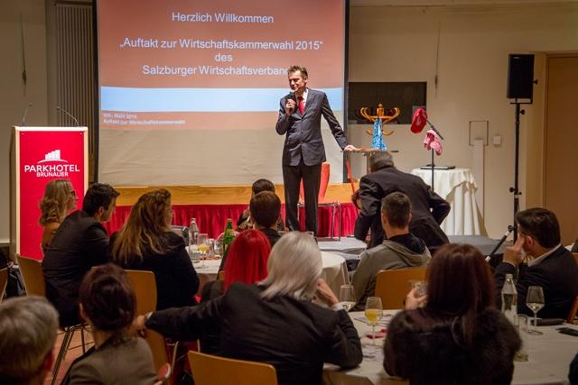 Moderator Andreas Gfrerer