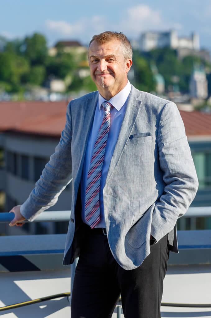 Der neue SWV Präsident Peter Mörwald