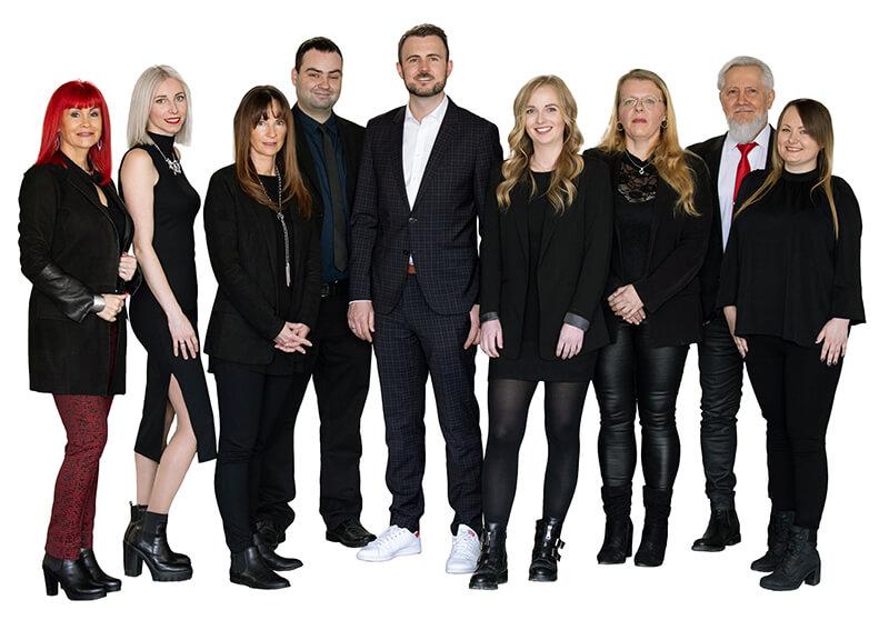 Team Foto Werbemittel präsenta in Salzburg