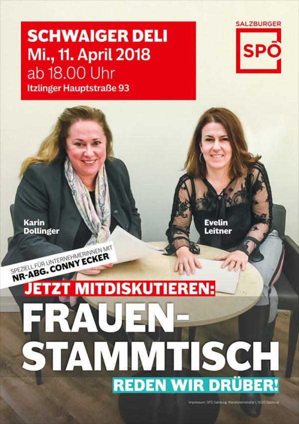 Abgeordnete zum Nationalrat Conny Ecker Unternehmerin und Vizepräsidentin des SWV
